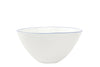 Abbesses Medium Bowl Blue Rim - Canvas Home