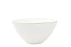 Abbesses Medium Bowl Green Rim - Canvas Home