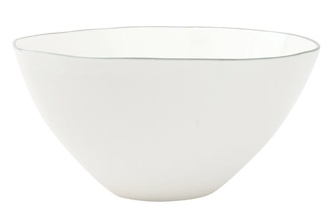Abbesses Medium Bowl Grey Rim - Set of 4