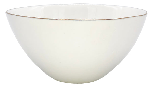Abbesses Small Bowl Gold Rim - Set of 4