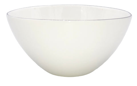 Abbesses Small Bowl Platinum Rim - Set of 4