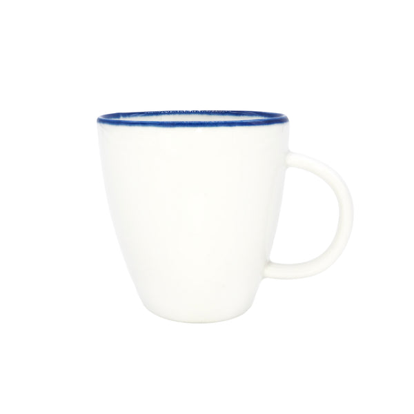 Abbesses Espresso Cup Blue Rim - Set of 4