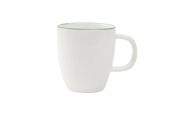 Abbesses Espresso Cup Green Rim - Canvas Home
