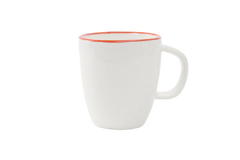 Abbesses Espresso Cup Red Rim - Canvas Home