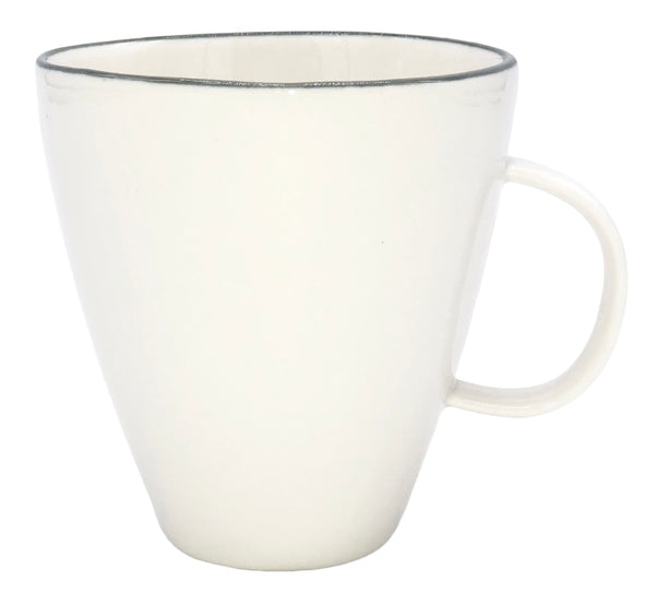 Abbesses Mug Grey Rim - Canvas Home