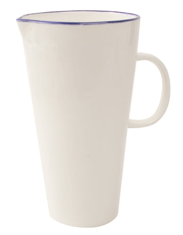 Abbesses Pitcher Blue Rim