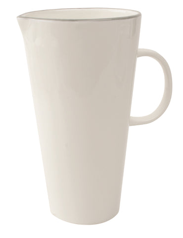 Abbesses Pitcher Grey Rim - Canvas Home
