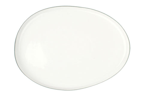 Abbesses Large Platter Grey Rim - Canvas Home