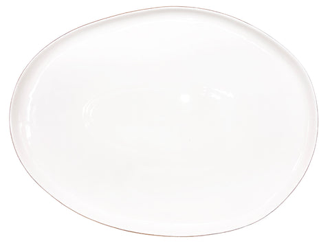 Abbesses Small Platter Gold Rim