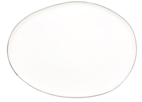 Abbesses Small Platter Grey Rim