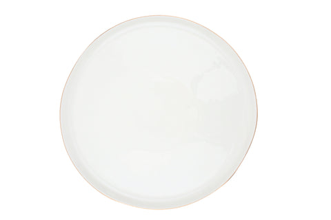 Abbesses Large Plate Gold Rim - Canvas Home