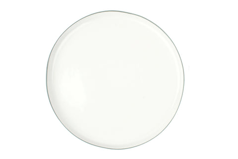 Abbesses Large Plate Grey Rim - Canvas Home