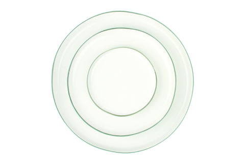 Abbesses Medium Plate Grey Rim - Canvas Home