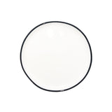 Abbesses Small Plate Black Rim - Set of 4