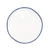 Abbesses Small Plate Blue Rim - Canvas Home