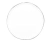 Abbesses Small Plate Platinum Rim - Canvas Home