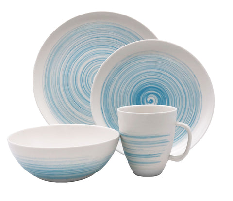 Charmouth 4-piece Place Setting in Blue