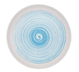 Charmouth Salad Plate in Blue - Set of 4