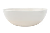 Shell Bisque Cereal Bowl White - Canvas Home
