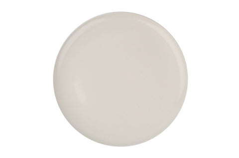 Shell Bisque Dinner Plate White - Canvas Home