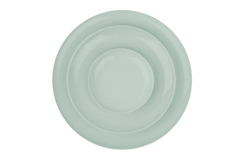 Shell Bisque Plates Mist