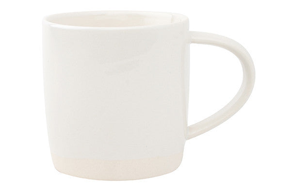 Shell Bisque Mug White - Canvas Home