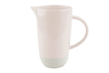 Shell Bisque Pitcher Soft Pink