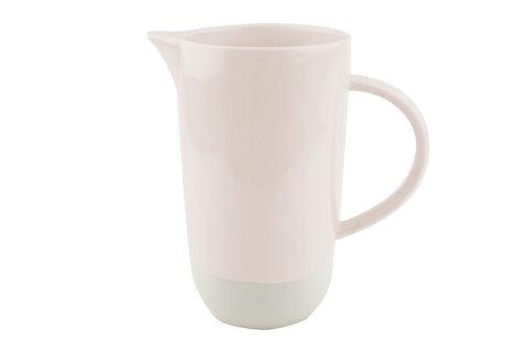 Shell Bisque Pitcher Soft Pink - Canvas Home
