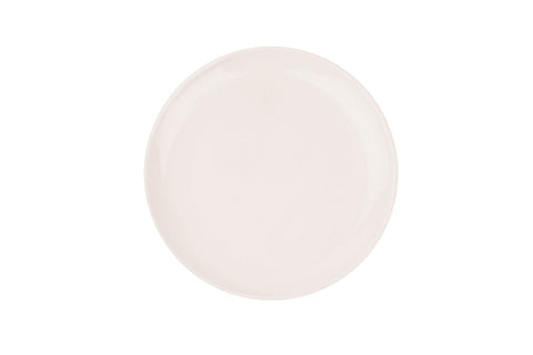 Shell Bisque Salad Plate Soft Pink