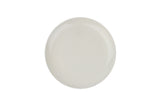 Shell Bisque Salad Plate White - Canvas Home