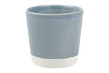 Shell Bisque Votive Blue - Canvas Home