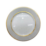 La Vienne Dinner Plate in Grey - Set of 4