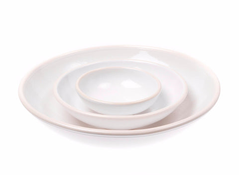 Gerona Nesting Bowl in White