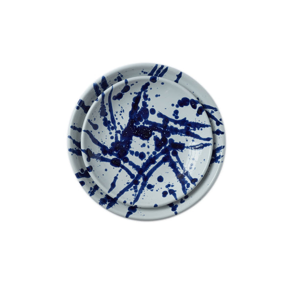 Gerona Dinner Plate in Splatter - Set of 4