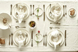 Abbesses 16-piece place setting - Blue
