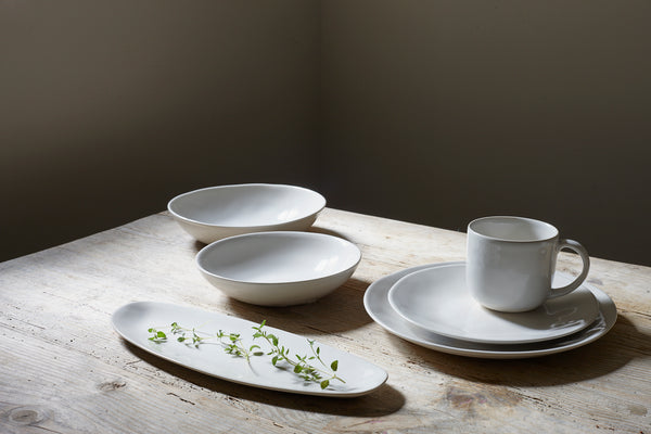 Evora Cereal Bowl in Ivory - Set of 4