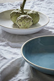 Gerona Large Fruit Bowl Blue/Grey - Canvas Home