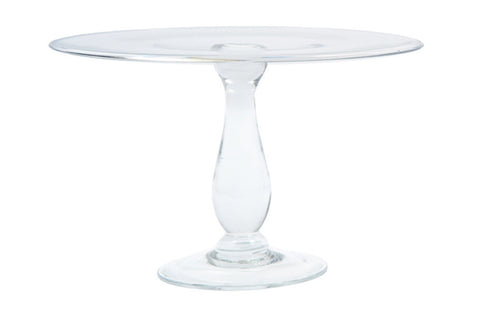 Glass Cake Stand Large - Canvas Home