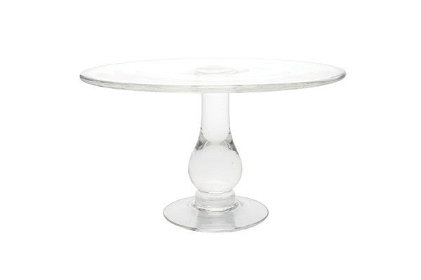 Glass Cake Stand Small - Canvas Home