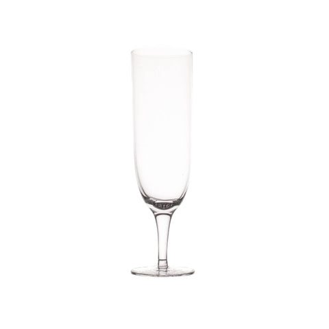 Amwell Champagne Glass in Clear - Set of 4