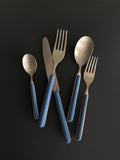 Bari 5pc Cutlery Set- Blue