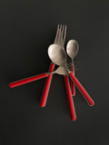 Bari 5pc Cutlery Set- Red