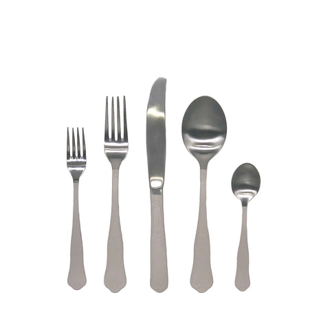 Jaipur Cutlery Set in Off-White