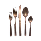 Lucca Cutlery Set in Copper