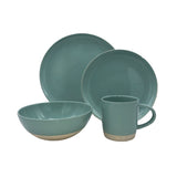 Shell Bisque 4-piece place setting - Mist