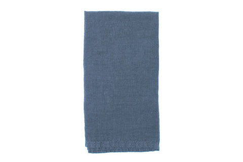 Vilnius Linen Napkin in Ocean - Set of 4