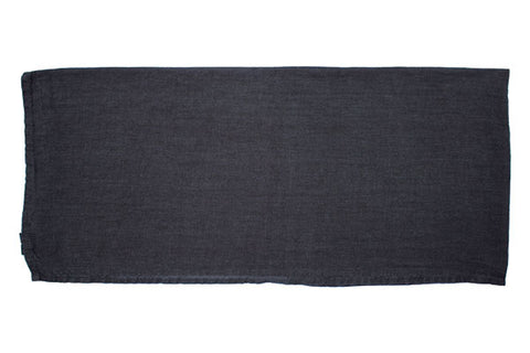 Vilnius Linen Tea Towel in Dark Grey - Set of 2