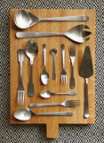 Madrid Cutlery Set in Matte Gold - 20pc Gift Set