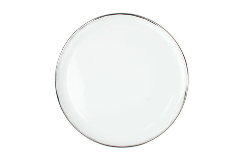 Dauville Dinner Plate in Platinum - Canvas Home