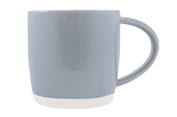 Shell Bisque Mug Blue - Canvas Home